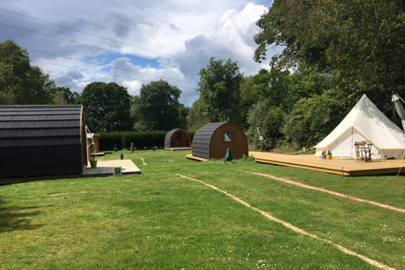 Back of Beyond glamping village