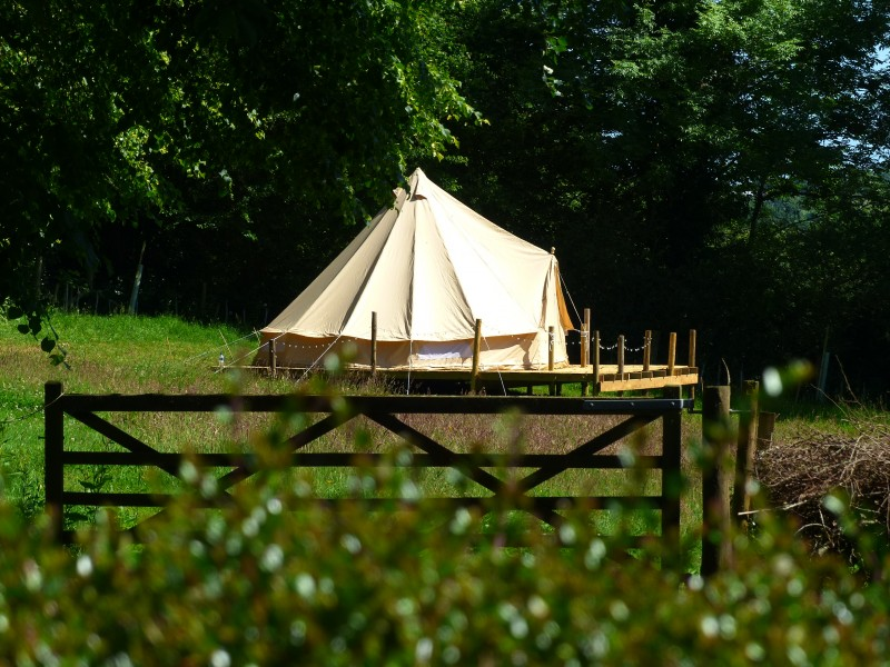 Bowacre Retreat Bell tent glamping