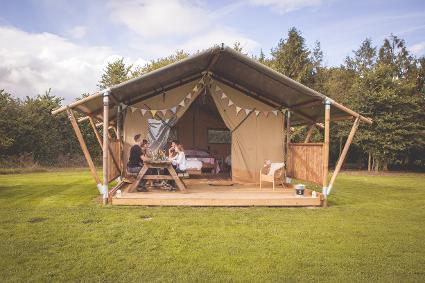 Canvas & Clover glamping safari tent